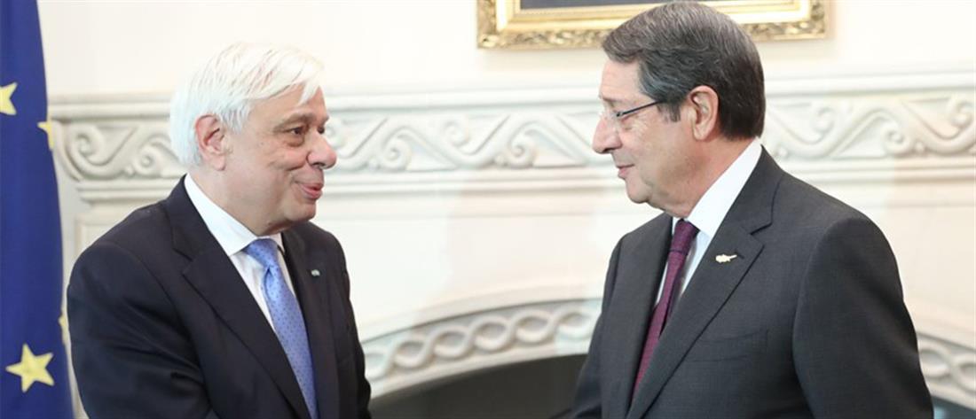 Παυλόπουλος: Πρέπει να τελειώσει η απαράδεκτη εκκρεμότητα του Κυπριακού