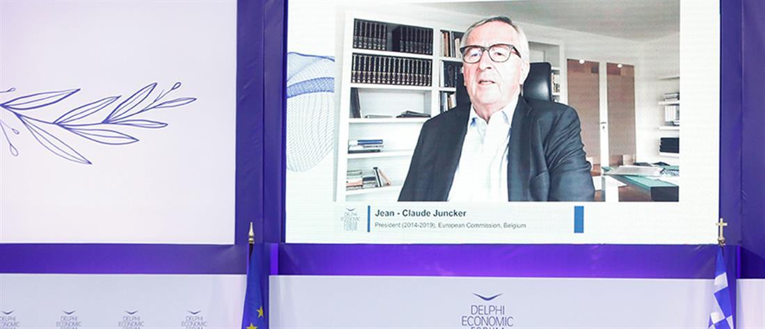 Γιούνκερ για Grexit: Η Μέρκελ άργησε, αλλά κατάλαβε…