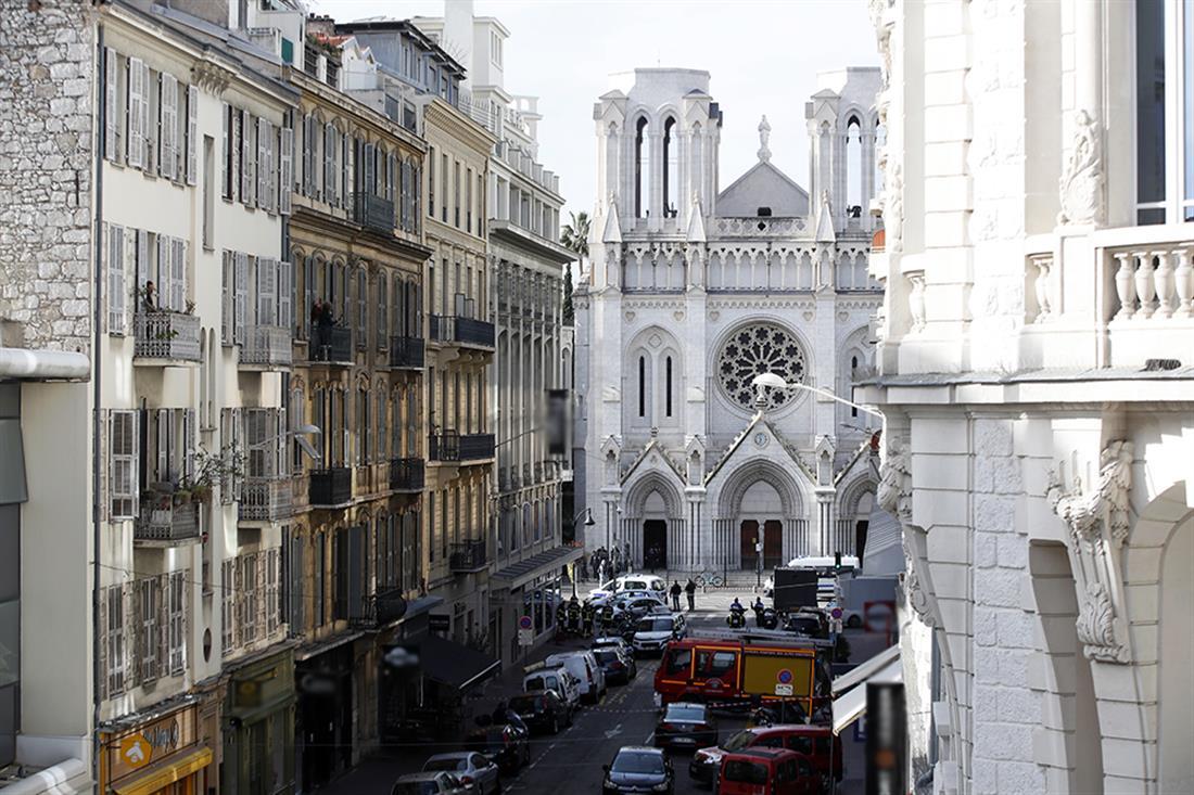 Επίθεση - εκκλησία - Νίκαια - Γαλλία