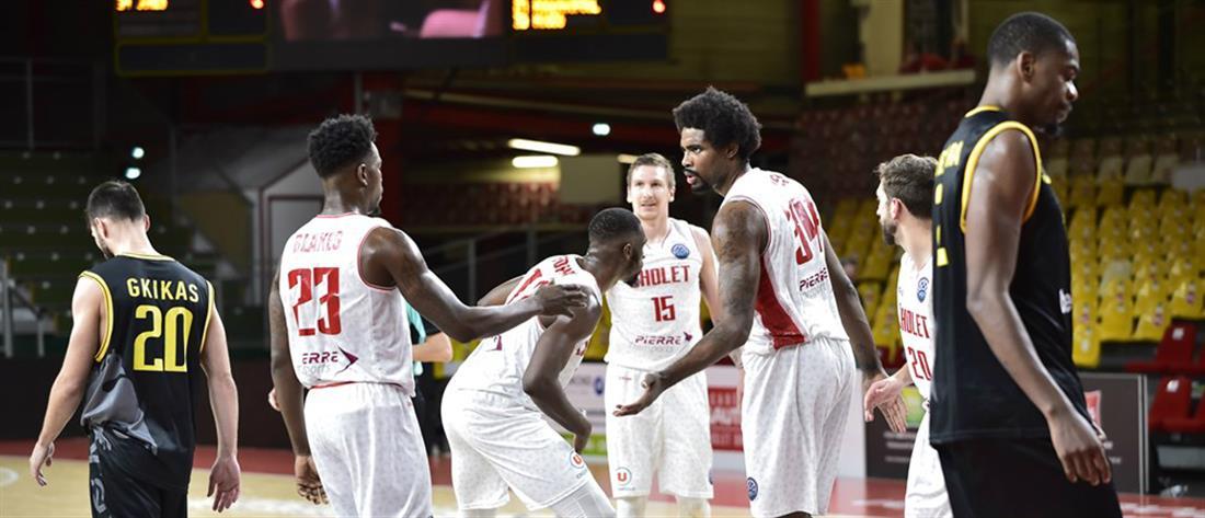 Basketball Champions League: Πρώτη ήττα για την ΑΕΚ