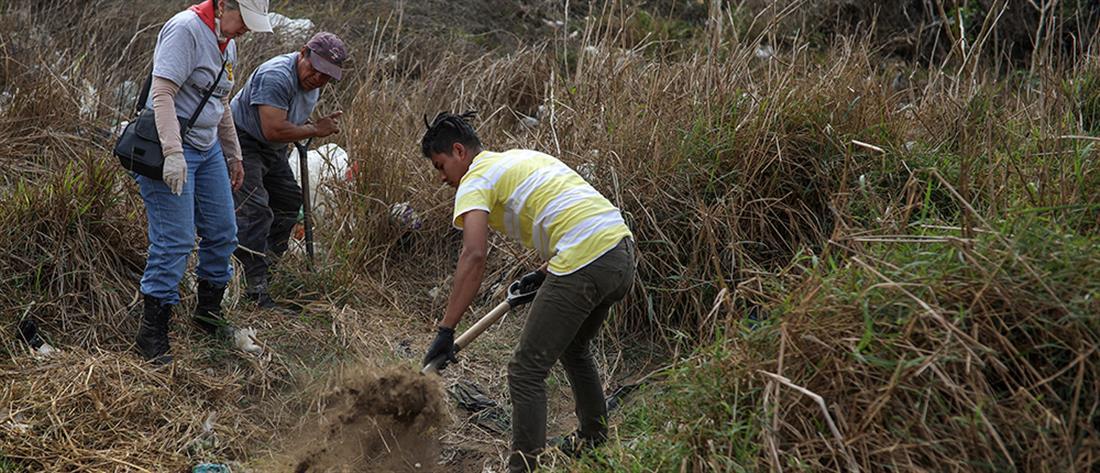 Φρίκη: Εντοπίστηκαν 337 πτώματα στο Μεξικό