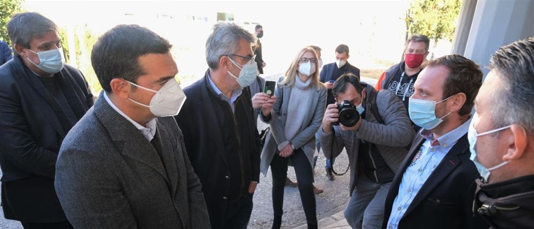 Τσίπρας από Δράμα: Τεράστιες ευθύνες για τις σκηνές βόρειας Ιταλίας