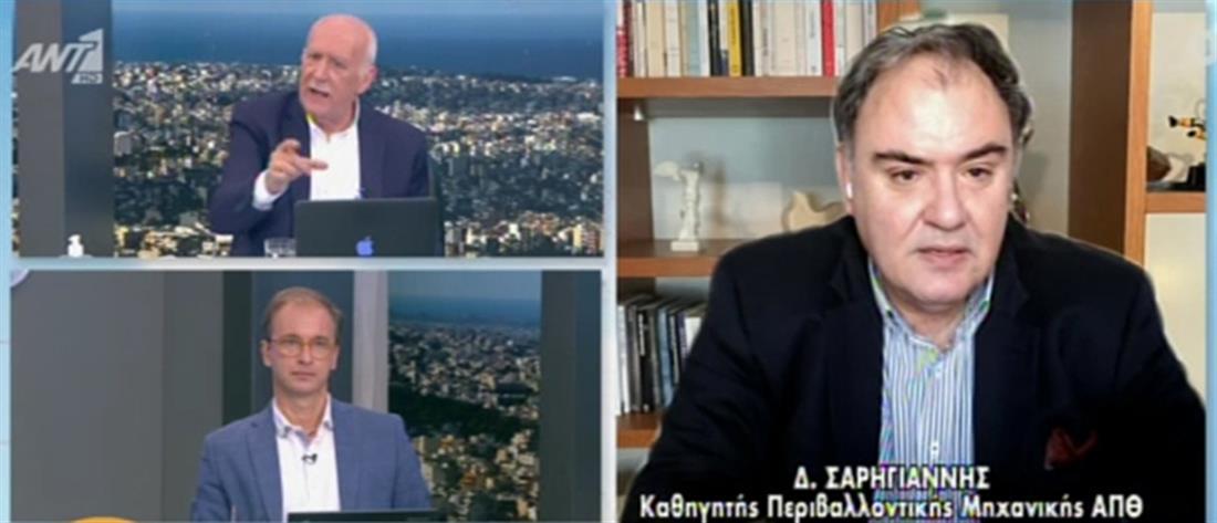 Κορονοϊός - Σαρηγιάννης στον ΑΝΤ1: είπα ψέματα γιατί με πανικό ο κόσμος δεν τηρεί τα μέτρα