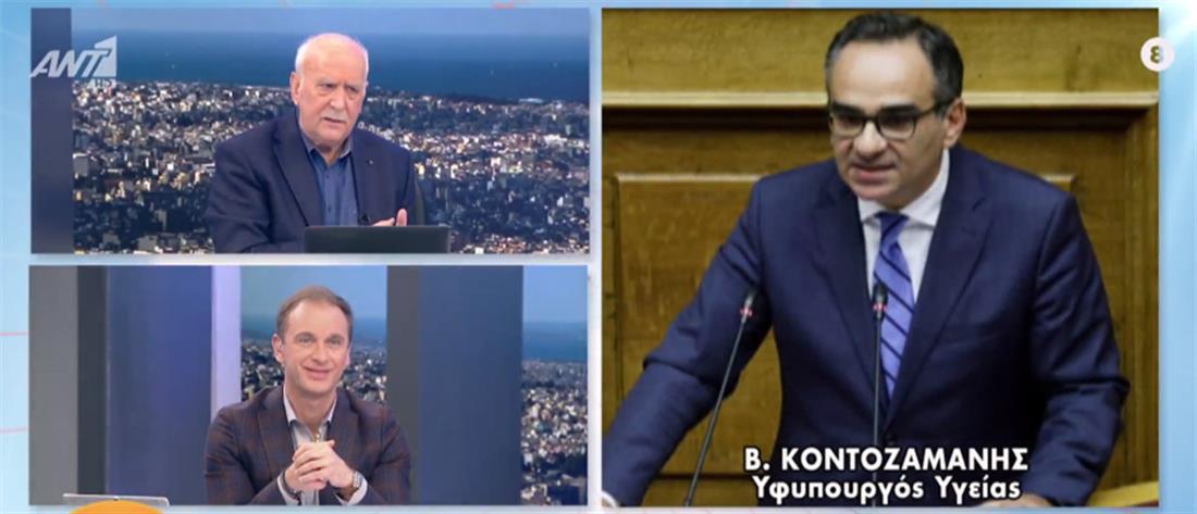 Κοντοζαμάνης στον ΑΝΤ1: ο αντικαπνιστικός νόμος θα εφαρμοστεί στο ακέραιο (βίντεο)