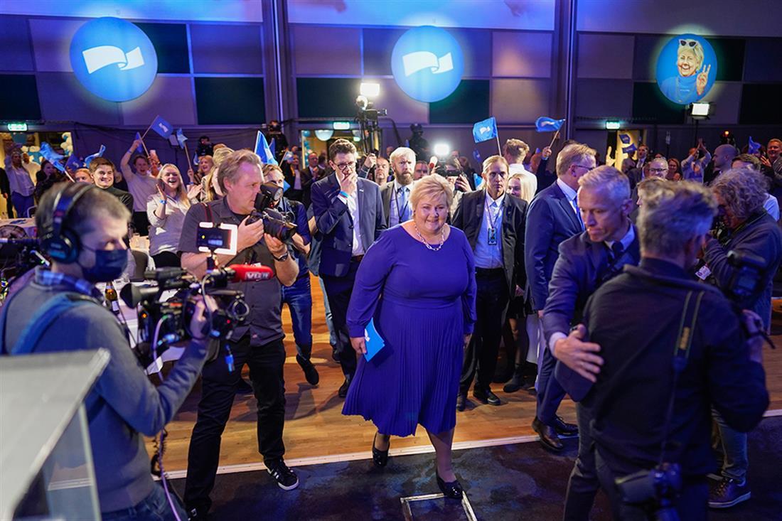 AP - Νορβηγία - εκλογές - Έρνα Σόλμπεργκ