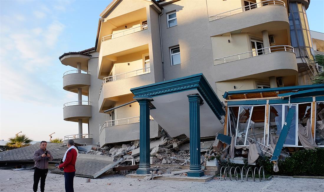 Αλβανία - σεισμός - ζημιές