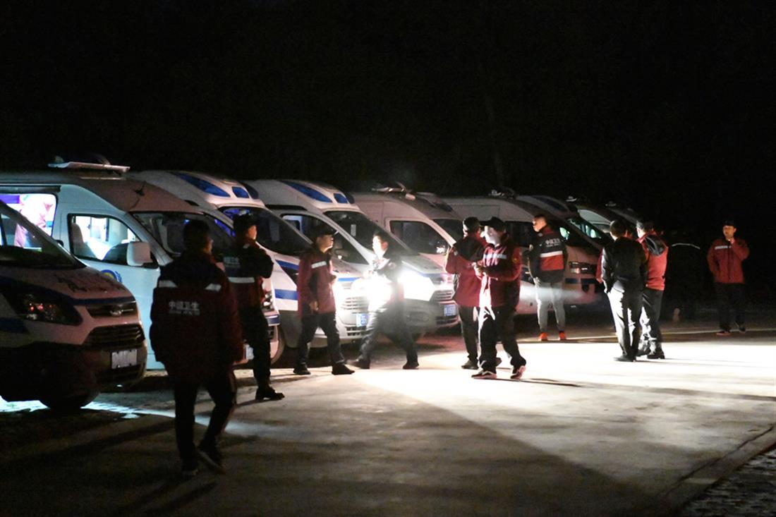 Κίνα – τραγωδία - υπερμαραθώνιος - Μπαϊγίν