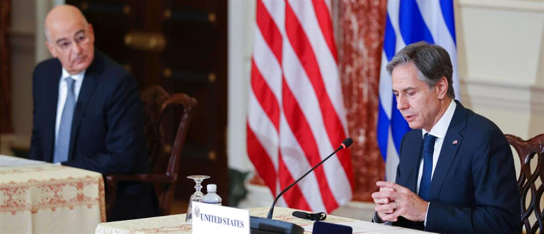 Αμυντική Συμφωνία Ελλάδας - ΗΠΑ: Επιστολή Μπλίνκεν σε Μητσοτάκη