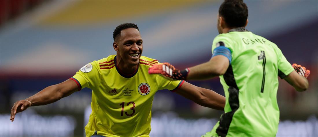 Copa America – Κολομβία: Με… πέναλτι η πρόκριση
