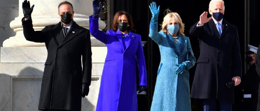 Τζιλ Μπάιντεν και Κάμαλα Χάρις στον δρόμο που χάραξε η Μισέλ Ομπάμα