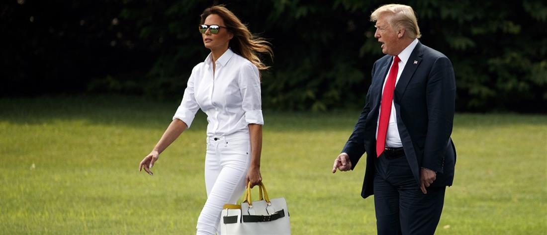 Μελάνια Τραμπ: ανακουφισμένη μετά την έξοδο από τον Λευκό Οίκο