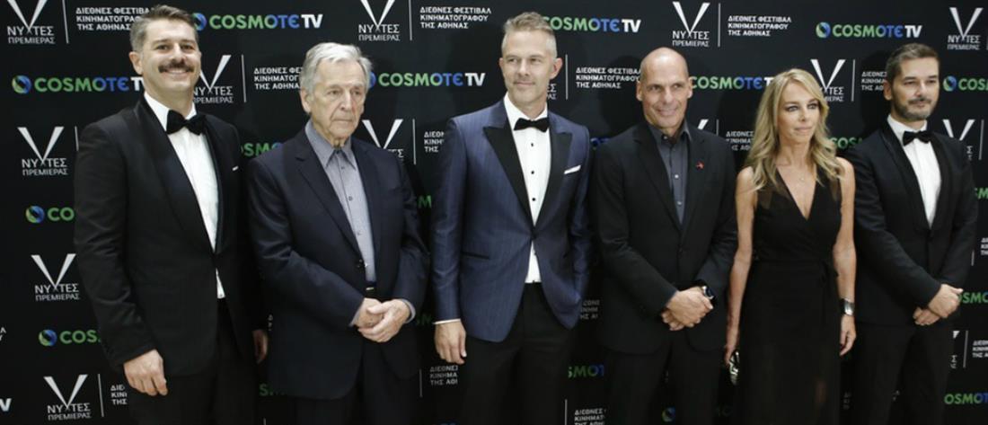 Νύχτες Πρεμιέρας: Ο Κώστας Γαβράς βραβεύθηκε για την πολυετή προσφορά του