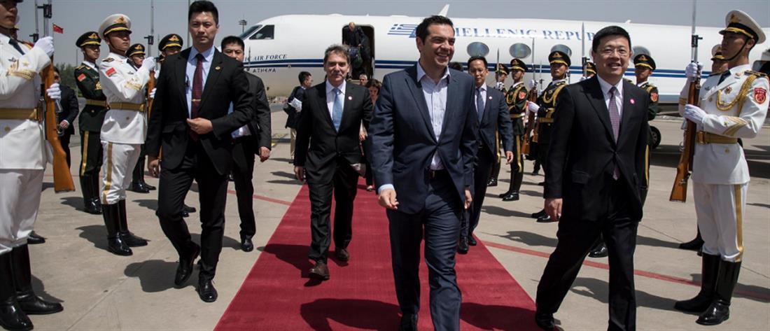"""Στην Κίνα ο Τσίπρας για τον """"Δρόμο του Μεταξιού"""""""