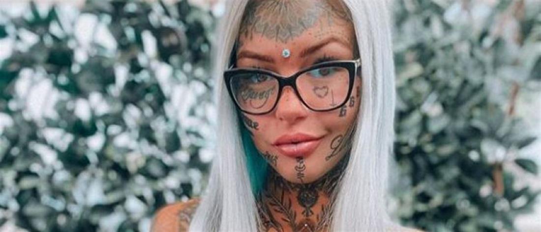 Μοντέλο τυφλώθηκε κάνοντας τατουάζ (εικόνες)