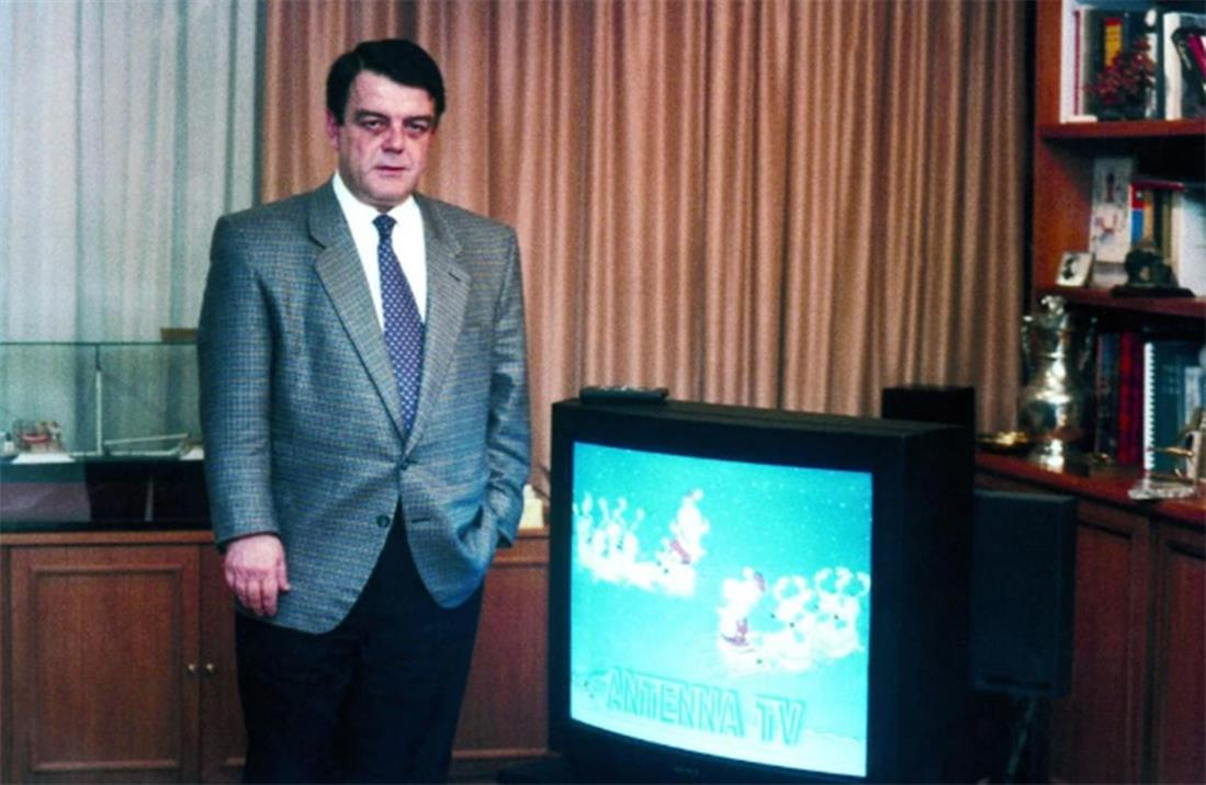 ΑΝΤ1 - Πρώτη εκπομπή - Ίδρυση - 1989 - Μίνως Κυριακού