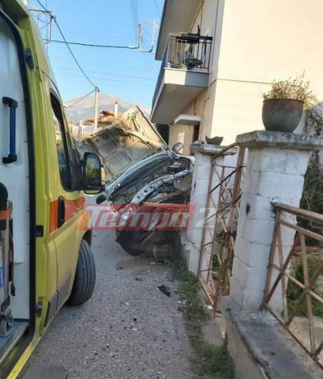 Δεμένικα Πατρών - ατύχημα