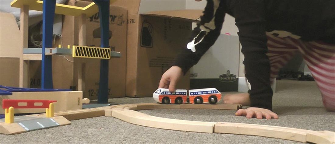 παιδιά - διαμέρισμα - παιχνίδια