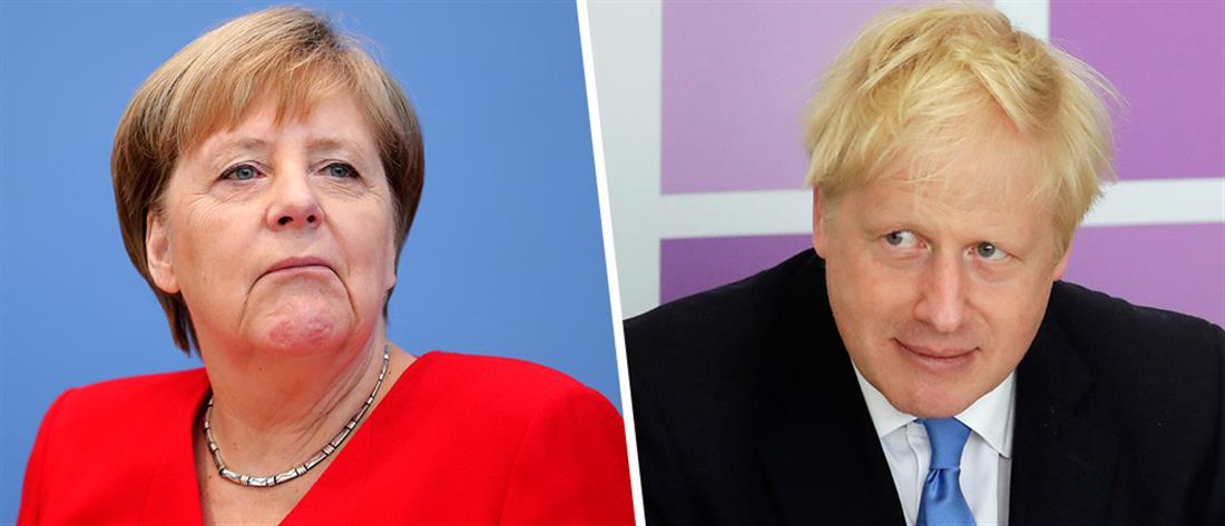 Κρίσιμη συνάντηση Μέρκελ - Τζόνσον για το Brexit
