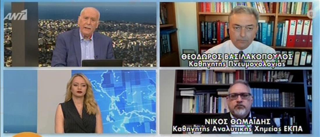"""""""Πάσχα στο χωριό"""" – Βασιλακόπουλος στον ΑΝΤ1: είναι λάθος να απαγορευτούν οι μετακινήσεις (βίντεο)"""