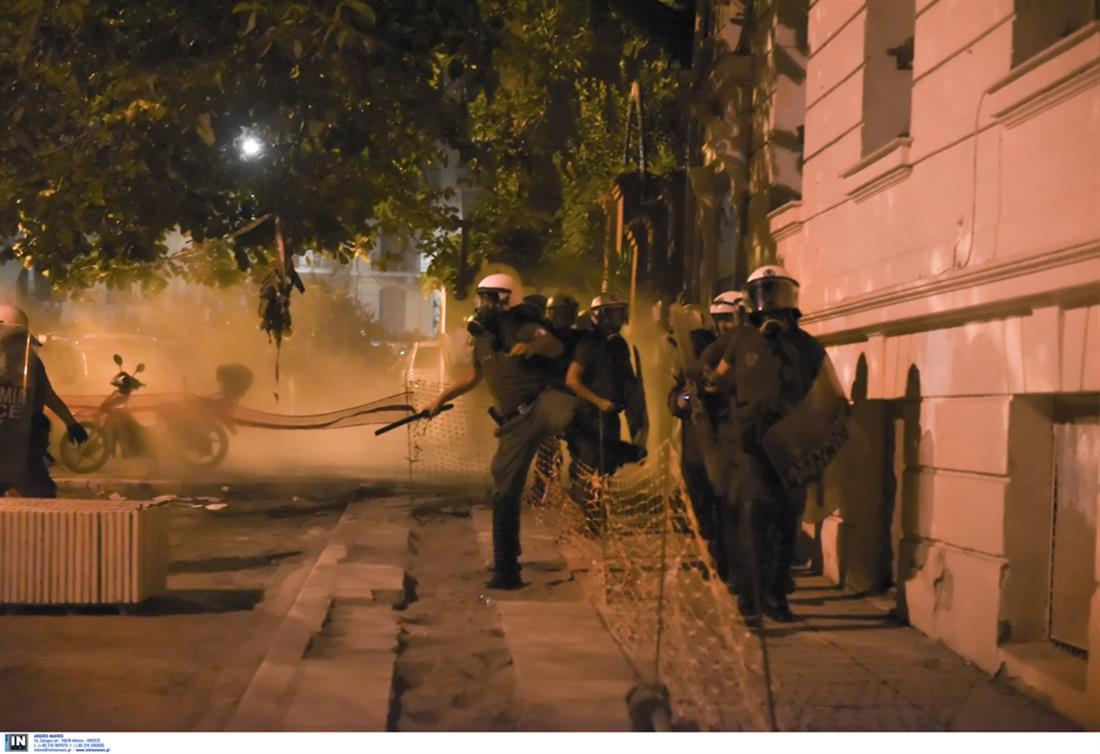 Θεσσαλονίκη - Επεισόδια - πορεία αντιεξουσιαστών