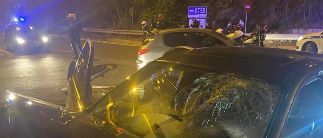 Επεισοδιακή καταδίωξη κλεμμένου αυτοκινήτου (βίντεο)