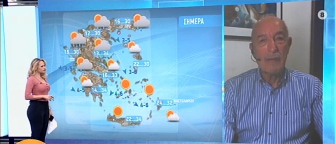 Καιρός - Αρνιακός: Σημαντική πτώση της θερμοκρασίας τα επόμενα 24ωρα (βίντεο)