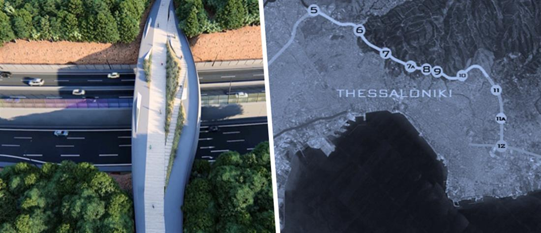 "Thessaloniki flyover: η ""εναέρια"" περιφερειακή οδός της Θεσσαλονίκης (εικόνες)"