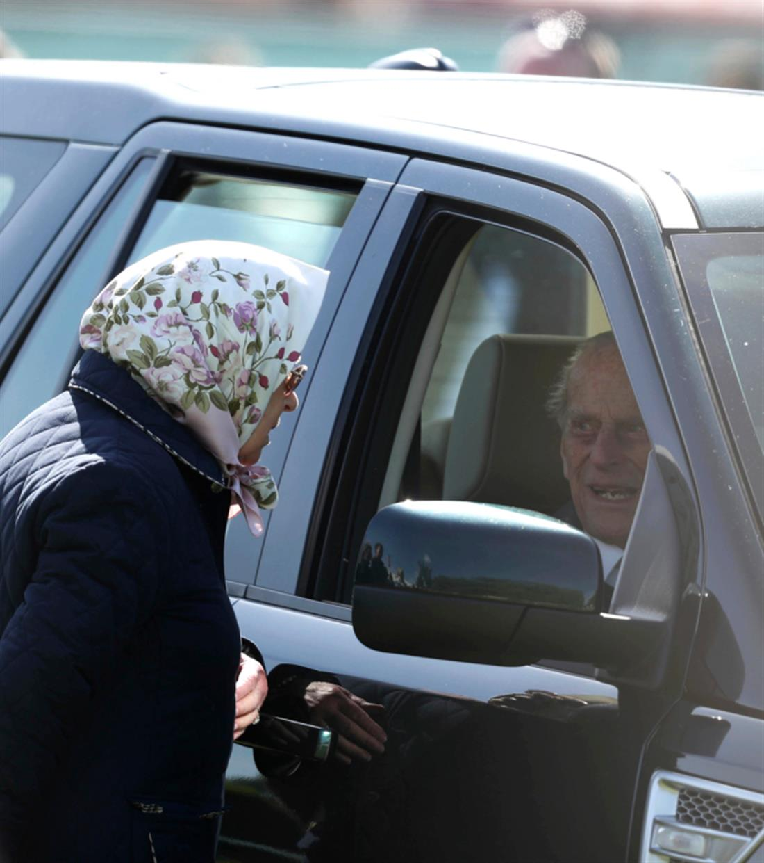 AP - Πρίγκιπας Φίλιππος - Βασίλισσα Ελισάβετ