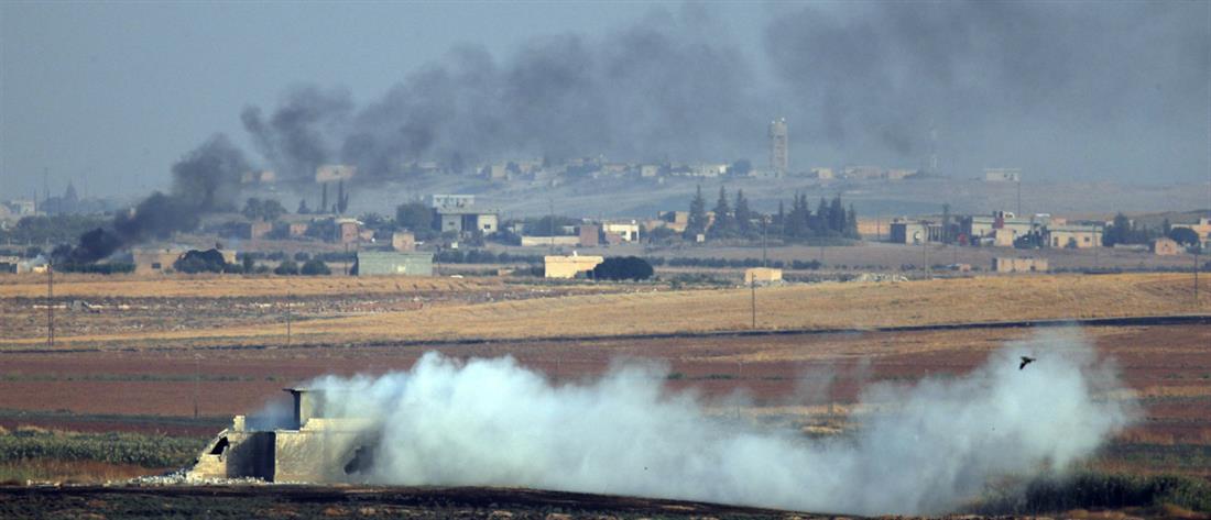 Η Τουρκία βομβάρδισε αμερικανικά στρατεύματα στη Συρία
