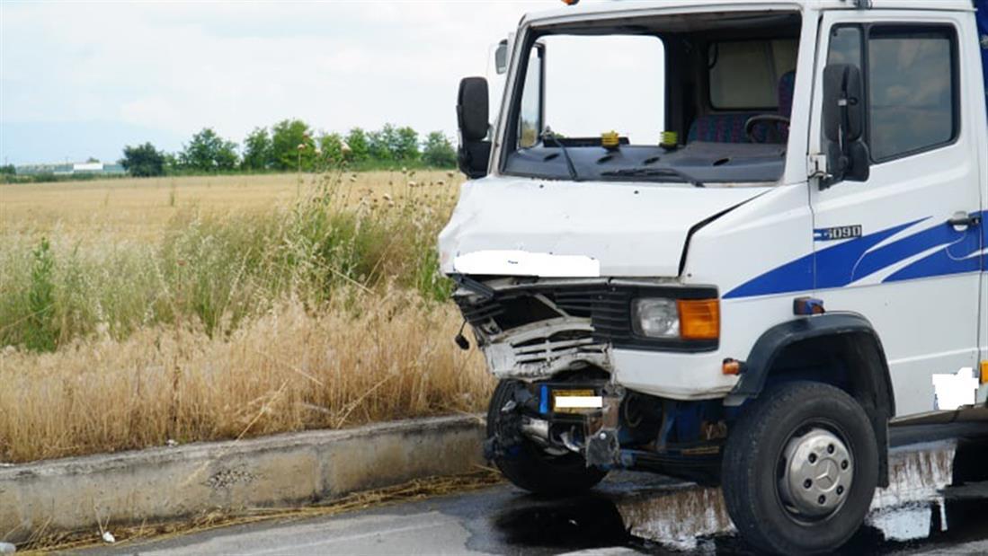 Τροχαίο δυστύχημα - Λάρισα - Πλατύκαμπος