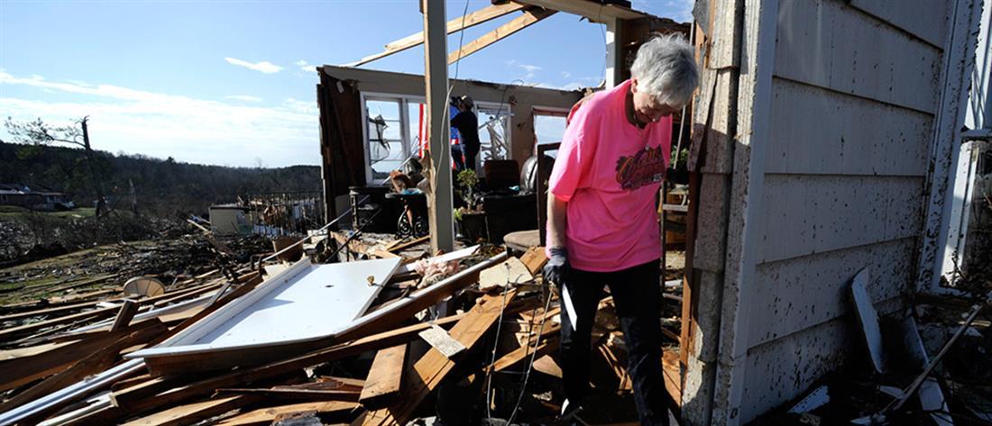 Φονικός κυκλώνας στην Αλαμπάμα (εικόνες)