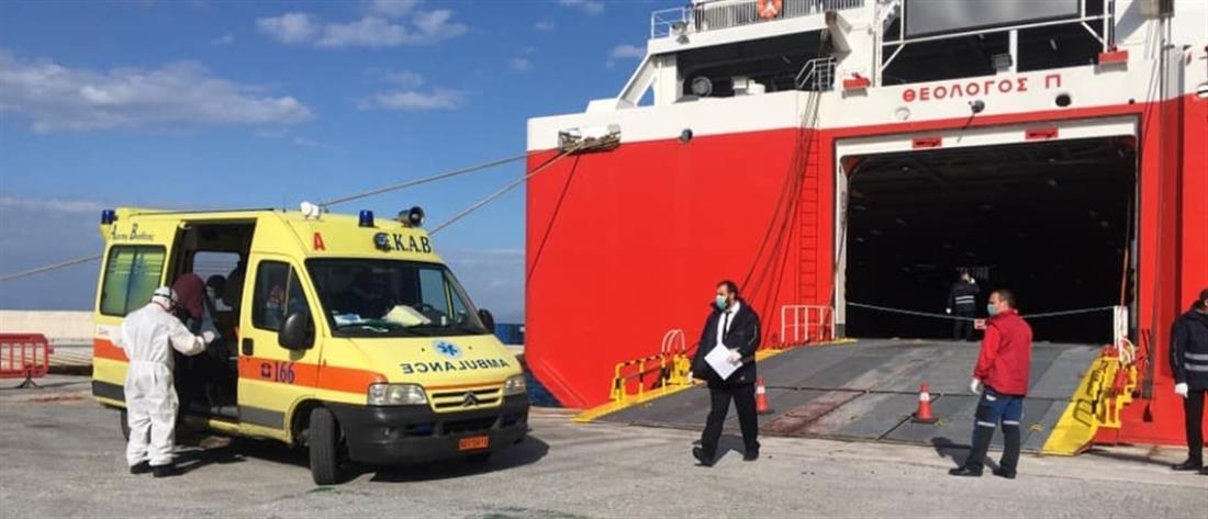 """Κορονοϊός: βγήκαν τα αποτελέσματα για τους δύο ναυτικούς του """"Θεολόγος"""""""