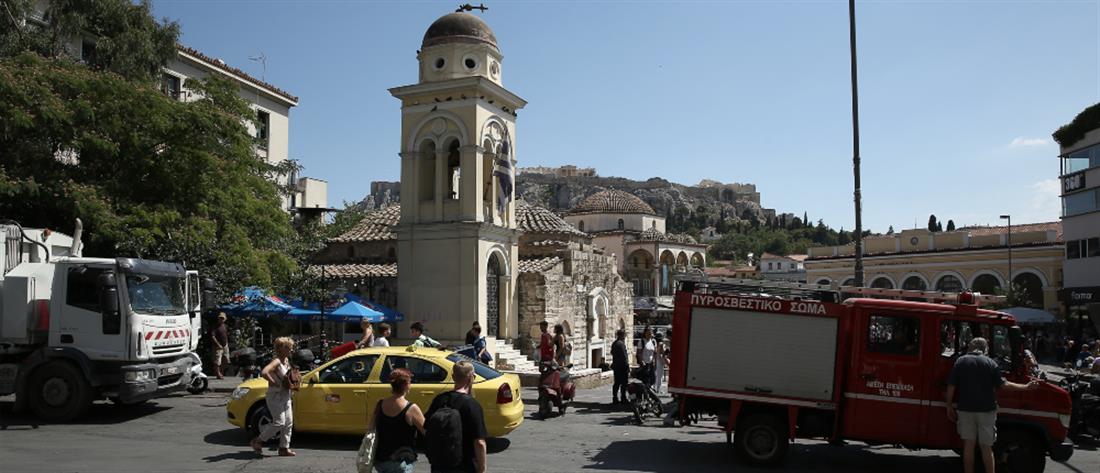 Ζημιές σε εκκλησίες στο κέντρο της Αθήνας από τον σεισμό (εικόνες)