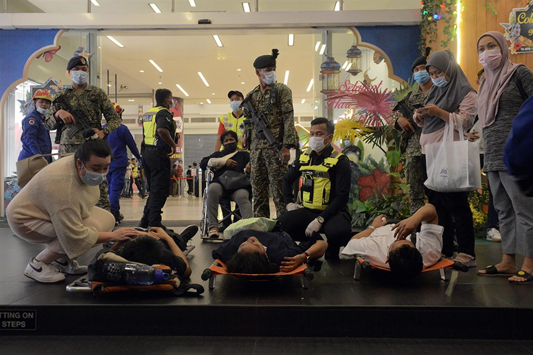 Σύγκρουση τρένων - Μαλαισία