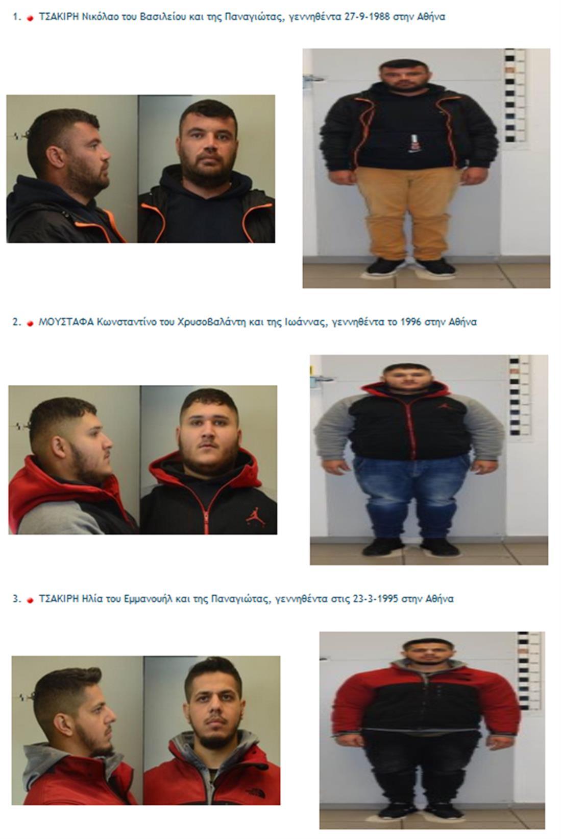 Αττική - ληστείες - συλλήψεις