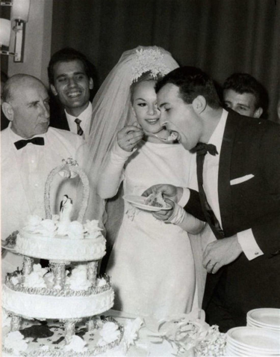 Δημήτρης Παπαμιχαήλ - Αλίκη Βουγιουκλάκη - γάμος