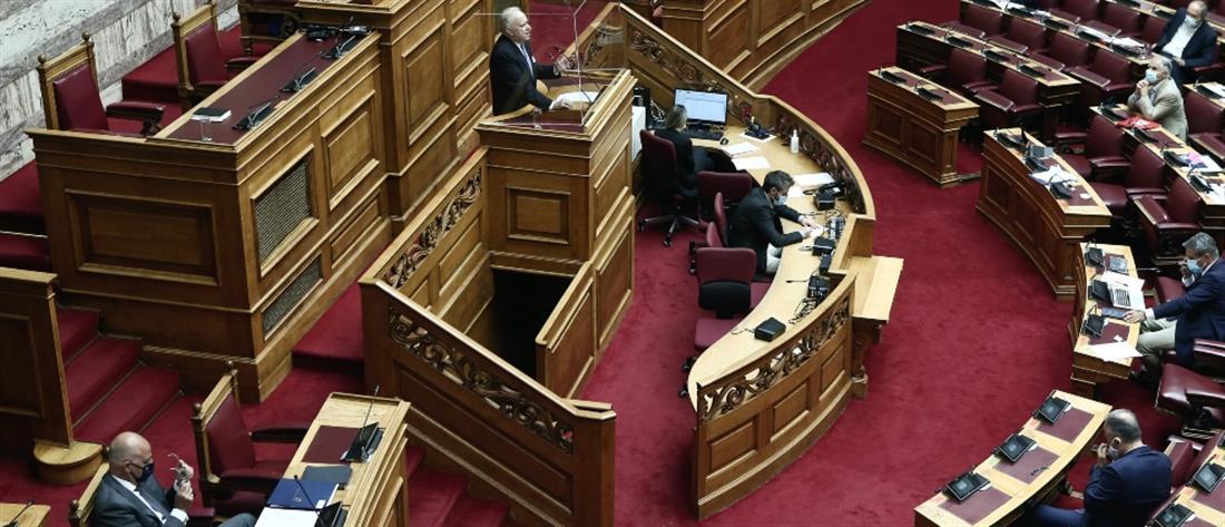 """""""Πέρασε"""" από τη Βουλή η συμφωνία ΑΟΖ με την Ιταλία"""