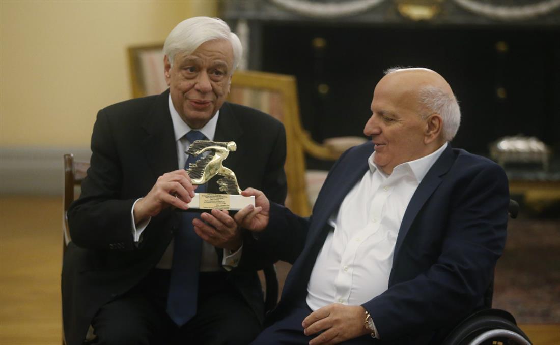Προκόπης Παυλόπουλος - Παραολυμπιονίκες - Προεδρικό Μέγαρο