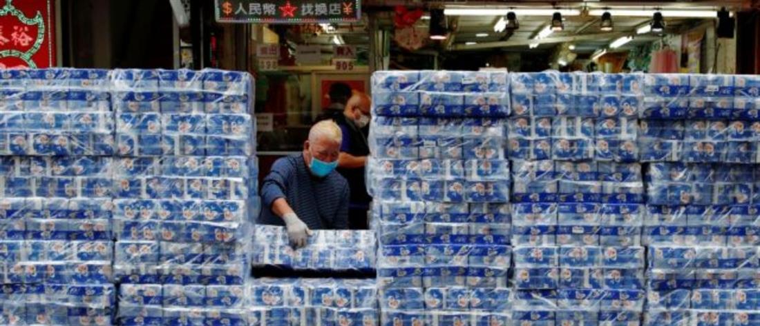 Κορονοϊός: Έκλεψαν εκατοντάδες ρολά χαρτιού υγείας