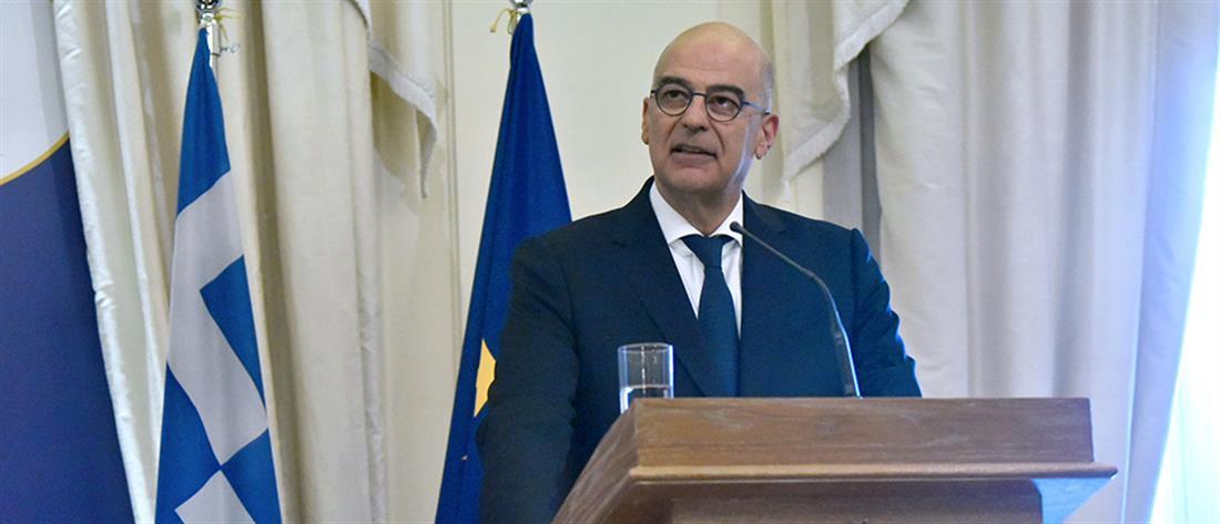 """""""Τροχιοδεικτική"""" η πρώτη δήλωση του Νίκου Δένδια για τις τουρκικές προκλήσεις"""