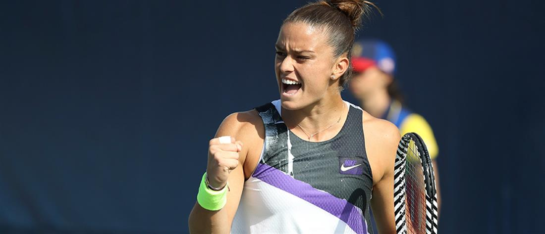 "WTA: ""άλμα"" της Σάκκαρη στην παγκόσμια κατάταξη"