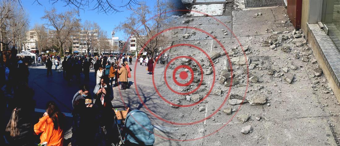 Σεισμός στην Ελασσόνα: σημαντική καθίζηση διαπίστωσαν οι επιστήμονες