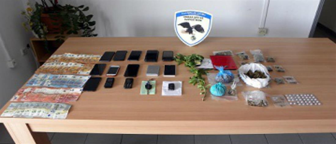 Μπαράζ συλλήψεων για διακίνηση ναρκωτικών στα Τρίκαλα