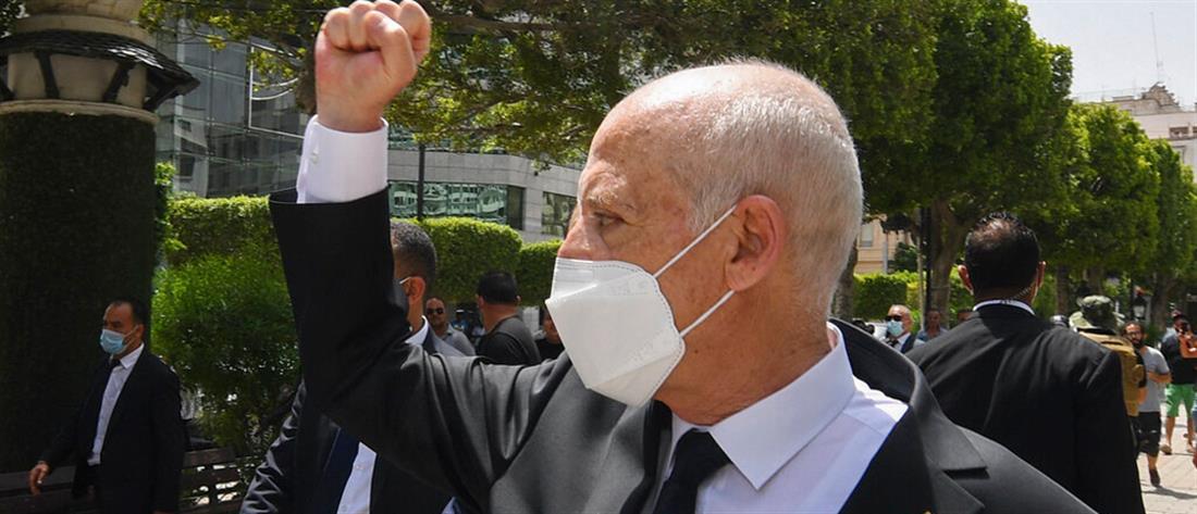 Καΐς Σαέντ - πρόεδρος Τυνησίας