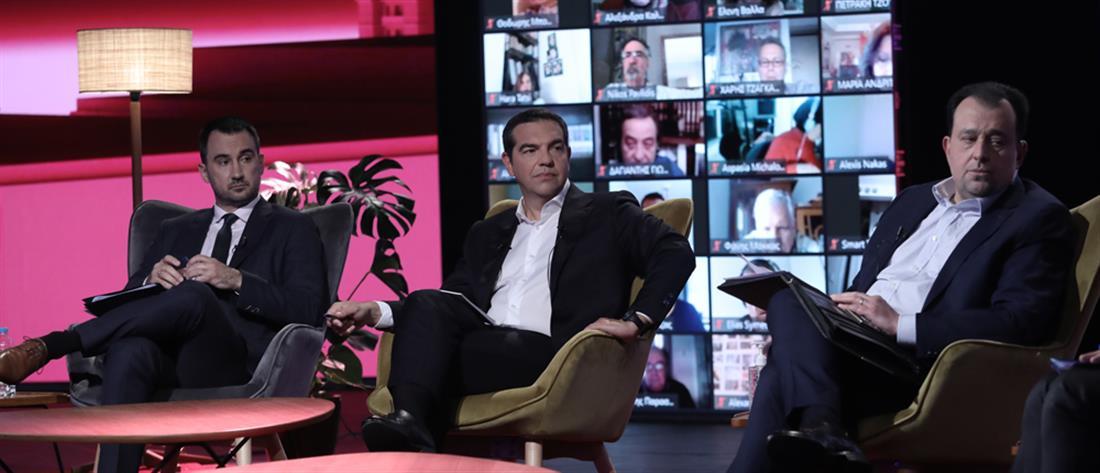 """Τσίπρας: Το σχέδιο ΣΥΡΙΖΑ για τη """"βιώσιμη επανεκκίνηση της οικονομίας"""""""