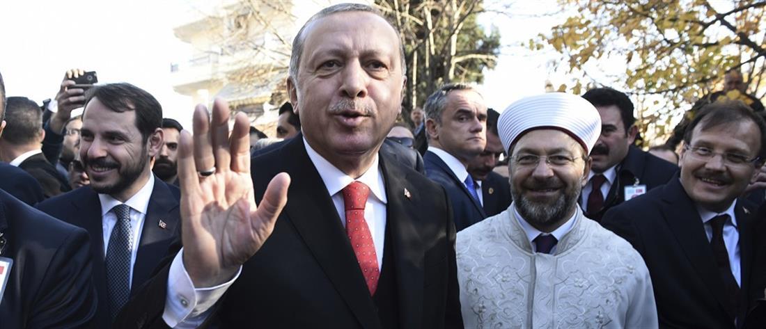 """ΝΔ: η επίσκεψη Ερντογάν """"τραυμάτισε"""" τις ελληνοτουρκικές σχέσεις"""