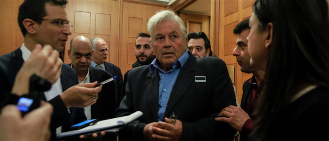 Αναβλήθηκε η παραίτηση του Θανάση Παπαχριστόπουλου