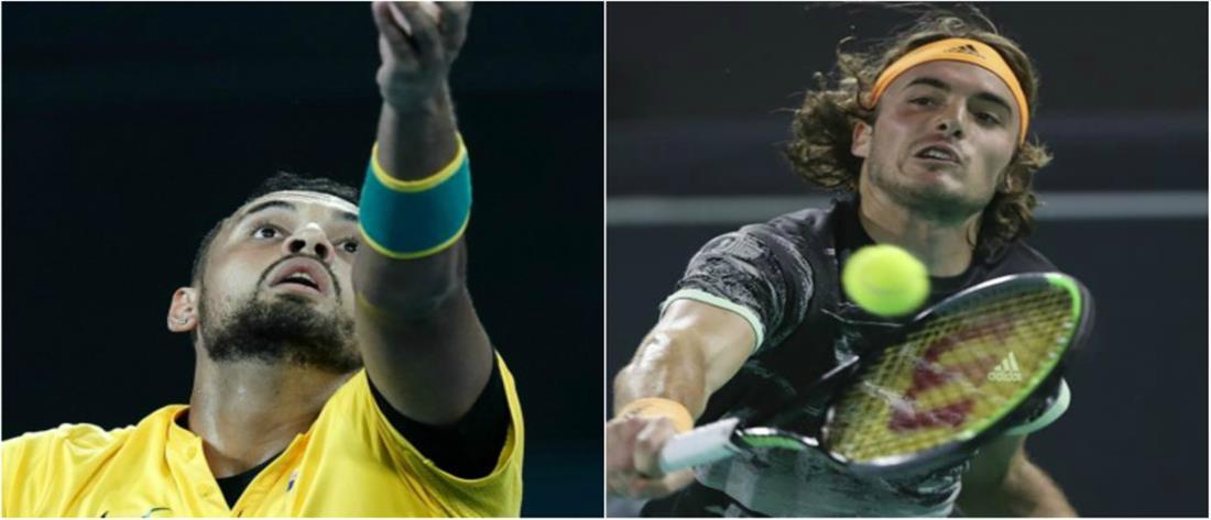 ATP Cup: ήττα Τσιτσιπά από Κύργιο