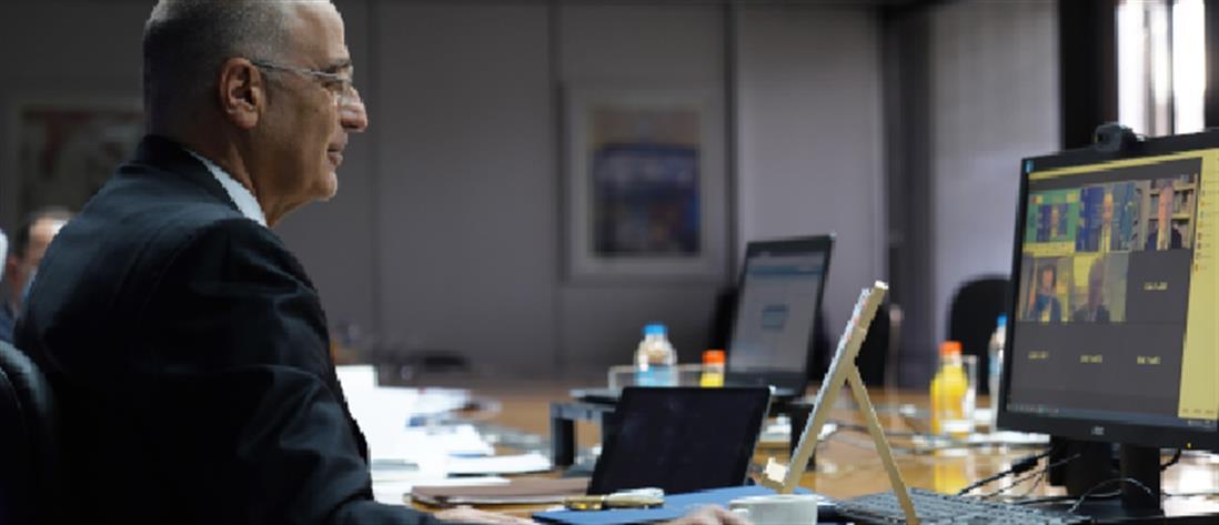 Δένδιας: Τηλεδιάσκεψη με την Επίτροπο Εσωτερικών Υποθέσεων - Τι συζήτησαν