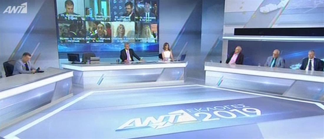 Εκλογές 2019: Live ο τηλεοπτικός μαραθώνιος του ΑΝΤ1